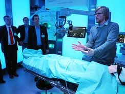 Exkursion ins ICCAS Innovation Center Computer Assisted Surgery